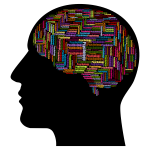 Man Head Psychology Brain Wordcloud