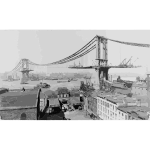 Manhattan Bridge Construction 1909 2016052844