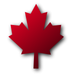 Maple leaf vector graphics