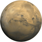Planet Mars vector image
