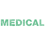 Medical cannabis typography