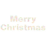 Merry Christmas Word Cloud No Background