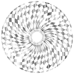 Checkered Pattern Circular Shape (#2)