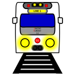 Subway line train