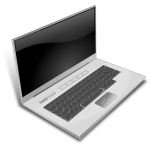Vector image of notebook
