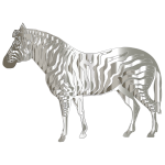 Mirrored Chrome Zebra