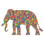 Modern Art Elephant Reactivated-1573770924
