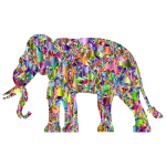 Modern Art Elephant Reactivated 6