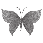 Monochromatic Tiled Butterfly 2