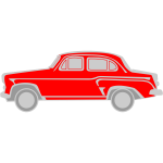 Moskvitch 407 vector image