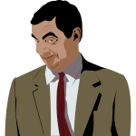 Mr Bean color by Rones