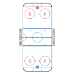 NHL Hockey Rink