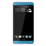 New hTC one blue
