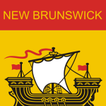New Brunswick Flag vector image