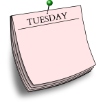 Pink Tuesday note