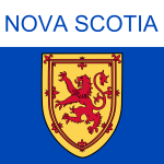 Nova Scotia symbol vector clip art