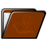 Brown folder image