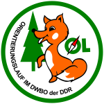 Orienteering Logo With A Fox
