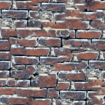 Brick wall picture