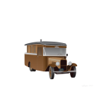 Old truck camper vector graphics