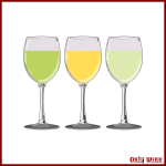 Different drink glasses