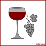 Wine and grapes image