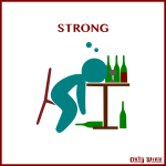 Strong wine
