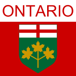 Ontario symbol vector illustration