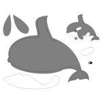 Orca pattern