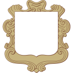 Rich ornate frame