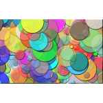 Overlapping Circles Background 2