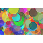 Overlapping Circles Background 4
