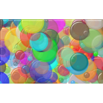 Overlapping Circles Background 5