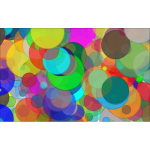 Overlapping Circles Background 7