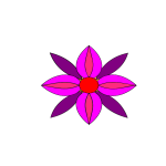 PINK AND PURPUL FLOWER