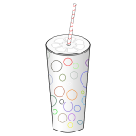 Paper cup vector graphics