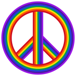 Peace Sign Rainbow
