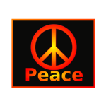 Peace in Orange