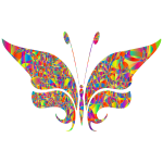 Polyprismatic Abstract Butterfly 2