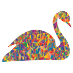 Polyprismatic Low Poly Swan