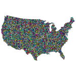 Polyprismatic US map