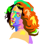Pop Art Female Face