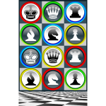 Poster chess patterns