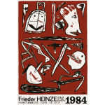 Art exhibition by Frieder Heinze