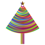 Prismatic Abstract Christmas Tree 3