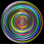 Prismatic Abstract Vortex 18 2 Variation 2
