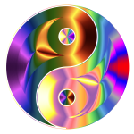Prismatic And Chromatic Yin Yang