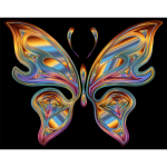 Prismatic Butterfly 13 Variation 4