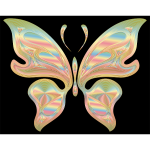 Prismatic Butterfly 17 Variation 2