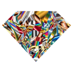Prismatic Chaos Diamond 8